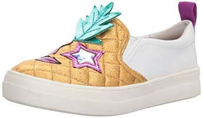NINA Girls samanntha Sneaker, Gold, 1 M US Little Kid