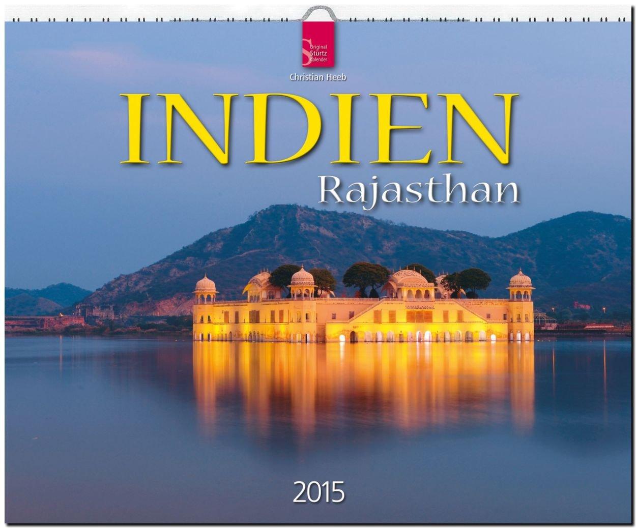 Indien / Rajasthan 2015 - Großformat-Kalender 60 x 48 cm