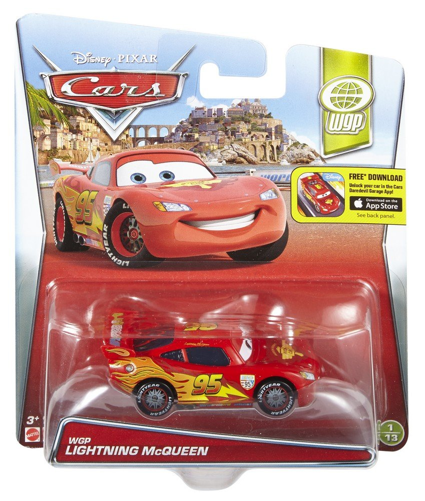 Disney Pixar Cars Wgp Lightning Mcqueen Cars 2 Vehicle Buy