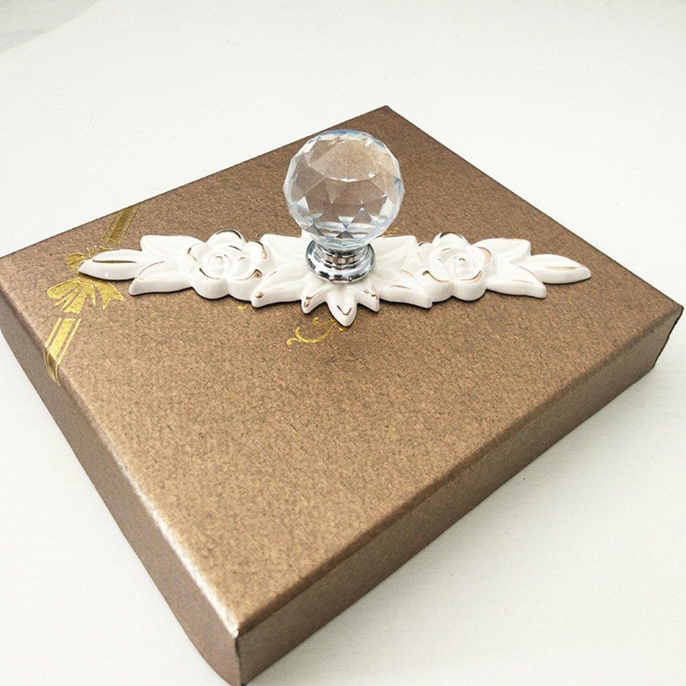 Fashionable Decor Ceramic Cabinet Cupboard Wardrobe Drawer Door Handle Knob