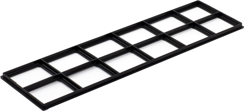 Decor Grates FRP414 Pristene Air Filter Retainer For Decor Grates Registers, 4