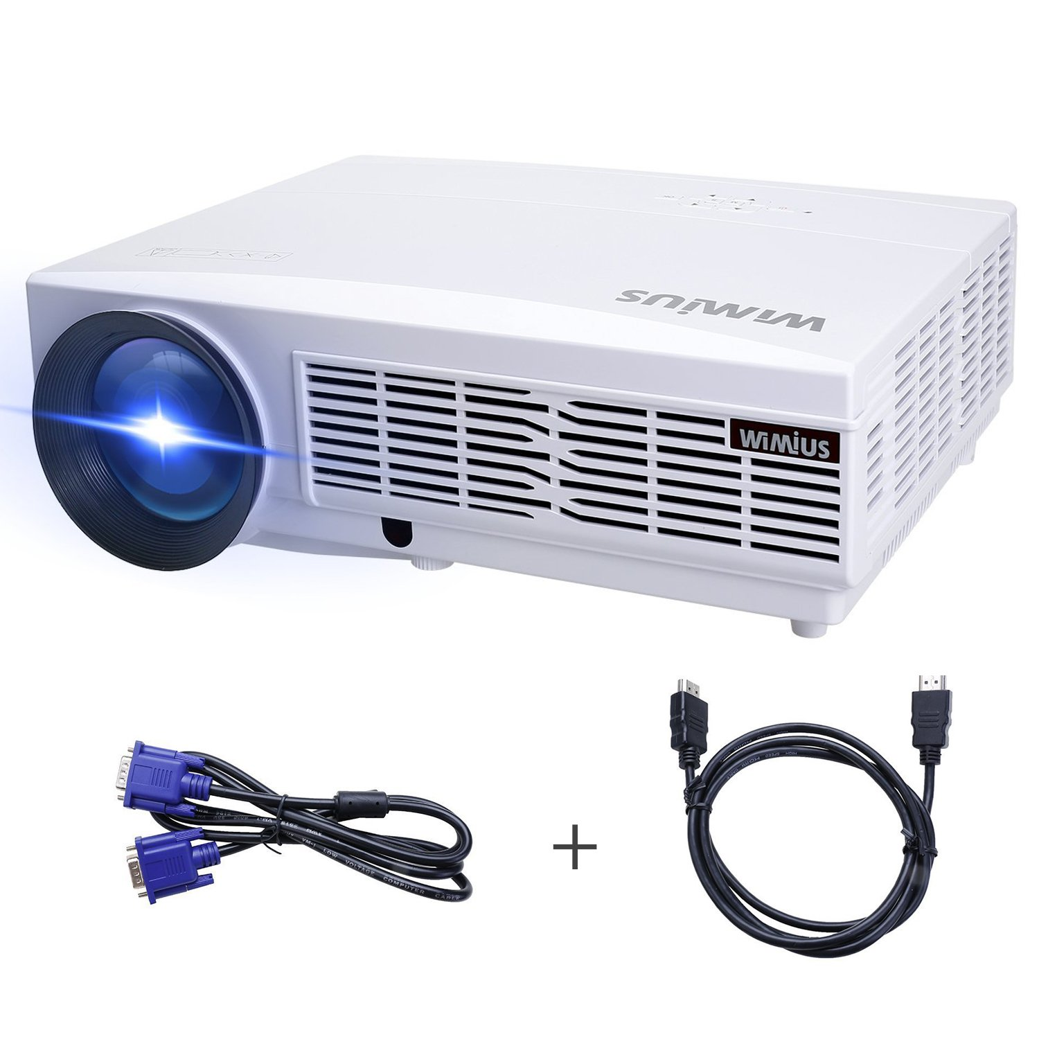 Proyector Full HD, Proyectores LED 1080P Proyector Video 3300 ...