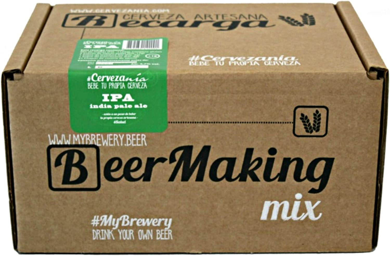Recarga de materias primas para elaborar cerveza en casa. Receta India Pale Ale