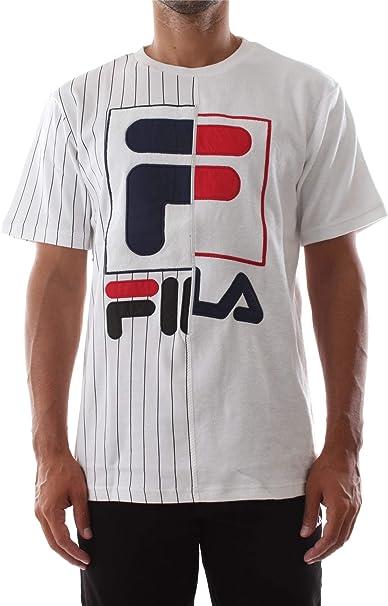 Fila Aiden Camiseta Hombre Blanco: Amazon.es: Ropa y accesorios