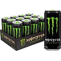 Monster Energy Drink, Green Original, 10.5 Ounce (Pack of 12)