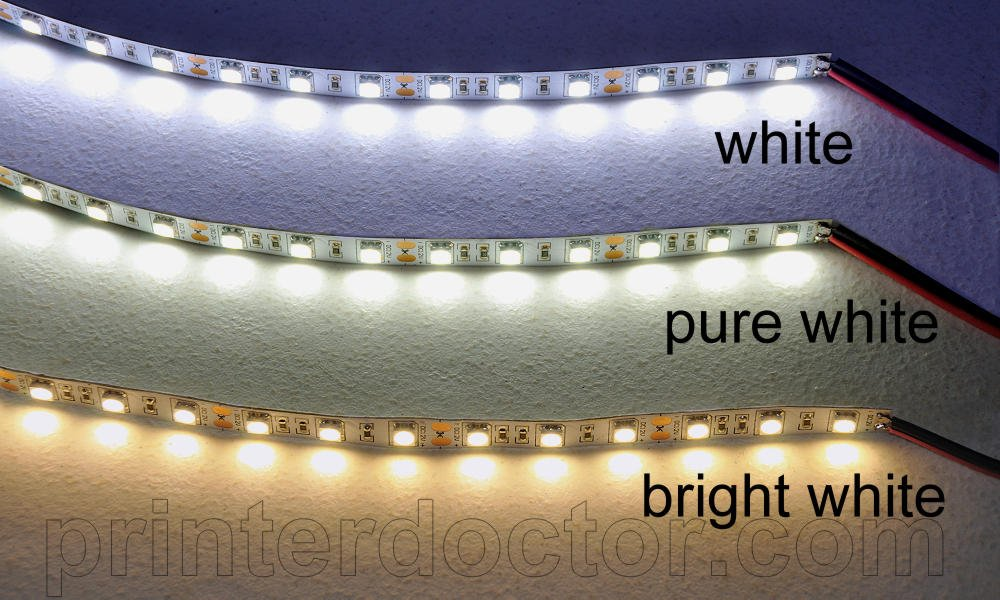 16 Ft + 4 Inch Undercabinet LED Strip Light Daylight White   Under Counter  Fixtures   Amazon.com
