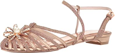 7a5260fc128b Ted Baker Women s Arunn Rose Gold Textile Shoe