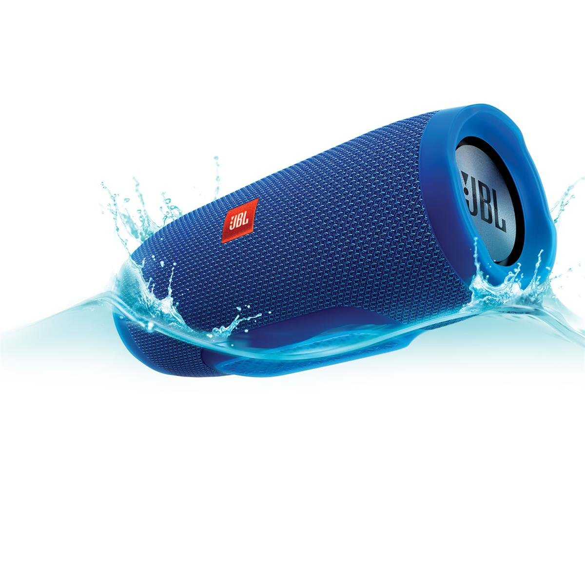 JBL Charge 3 Waterproof Bluetooth Speaker -Blue (Certified Refurbished) by JBL (Image #5)