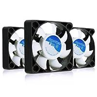 AAB Cooling Super Silent Fan 5 - una silenziosa e molto efficiente 50mm ventola - Pacchetto di Valore 3 Pezzi