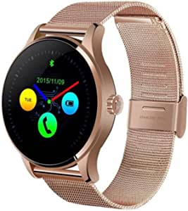 Smart watch measure heart rate and can be connected with mobile