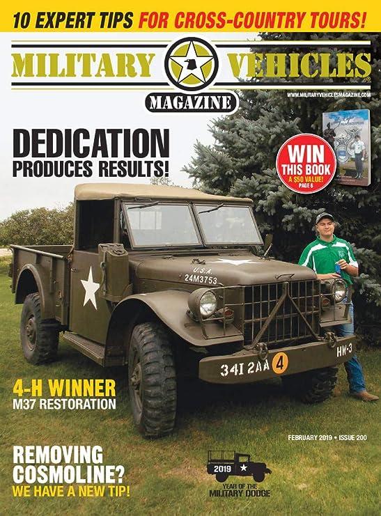 Military Vehicles [Print + Kindle]: Amazon com: Magazines