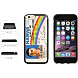Funny McLovin Driver License TPU RUBBER SILICONE Phone Case Back Cover Apple iPhone 6 Plus and iPhone 6s Plus (5.5 inches screen) includes BleuReign(TM) Cloth and Warranty Label