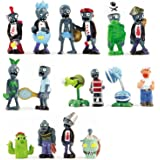 Oliasports 16 X Plants vs Zombies Toys Series Game Role Figure Display Toy