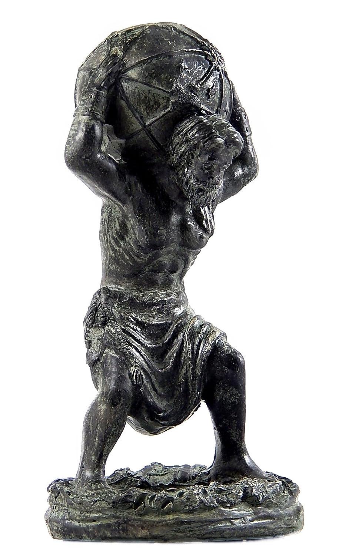 Bellaa 22692 Atlas Holding World Greek Statue Greek Mythology Statue 811641022692