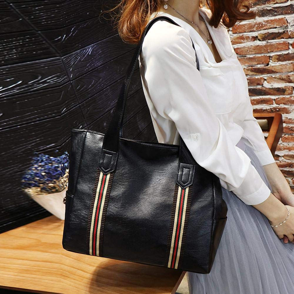 Defect Bolso de Las señoras Casual Solo Hombro Color Cinta Bolso Simple Casual señoras Especial Bolsa de Gran Capacidad 9c3d02