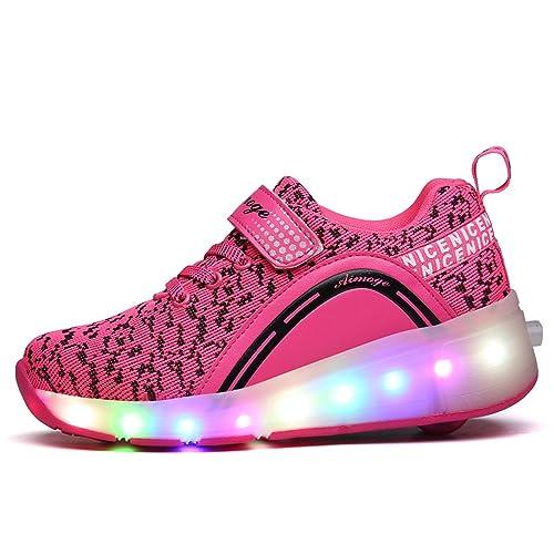 chengzhou Runaway Zapatos\Los Zapatos con ruedas\Zapatos Sola Rueda\Zapatos con ruedas: Amazon.es: Zapatos y complementos
