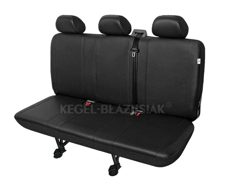 Beifahrersitz Einzelsitz Armlehne rechts Einzelsitz Armlehne links Kunstleder schwarz ZentimeX Z742791 Sitzbez/üge SET Fahrersitz