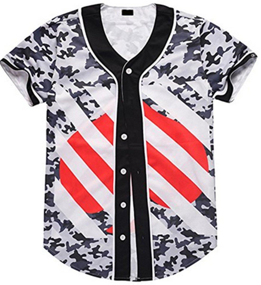 Union Link SHIRT メンズ B074RHV3Q1 Small|Baseball Clothing 3 Baseball Clothing 3 Small