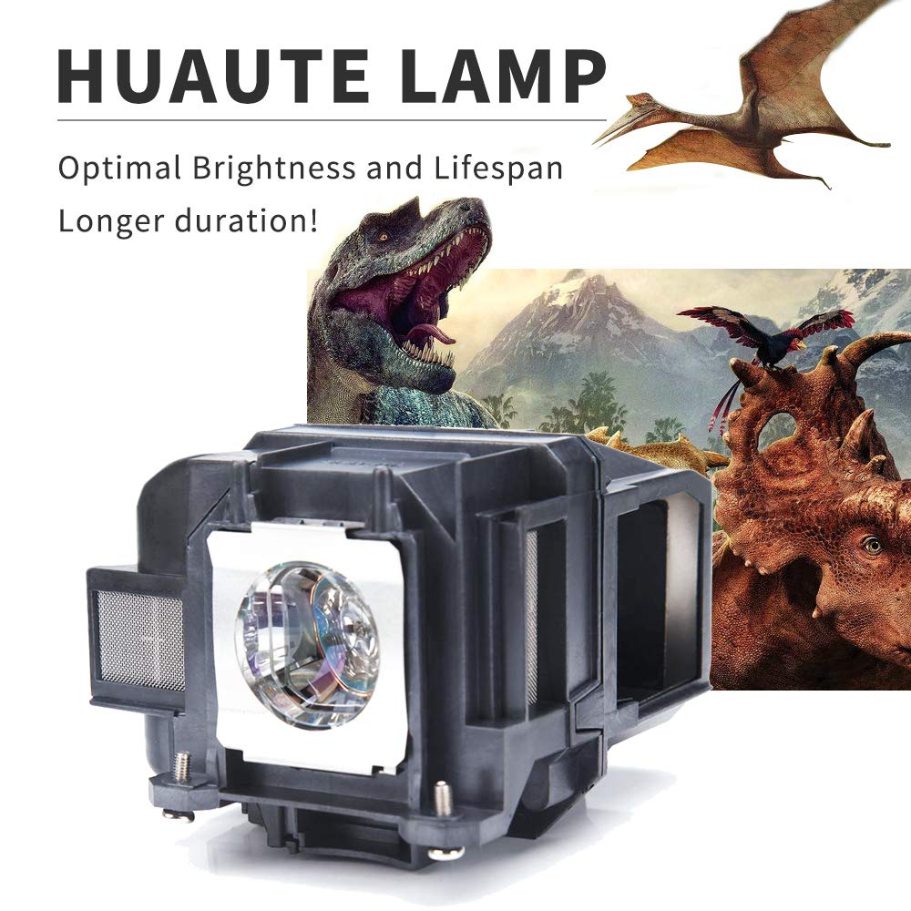 ELPLP88 Replacement Projector Lamp with Housing Compatible with Powerlite Home Cinema 2040 1040 2045 740HD 640 EX3240 EX7240 EX9200 EX5250 EX5240 VS240 VS345 VS340 Huaute V13H010L88
