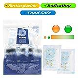 Dry & Dry 5 Gram [40 Packs] Food Safe Orange