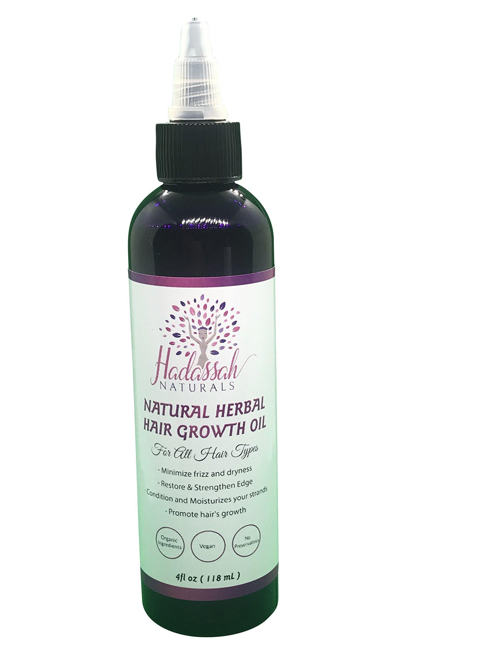 Hadassah Naturals Herbal Hair Growth Oil