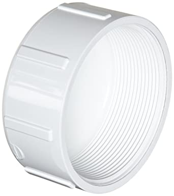 Spears 448 Series PVC Pipe Fitting Cap Schedule 40 2 1