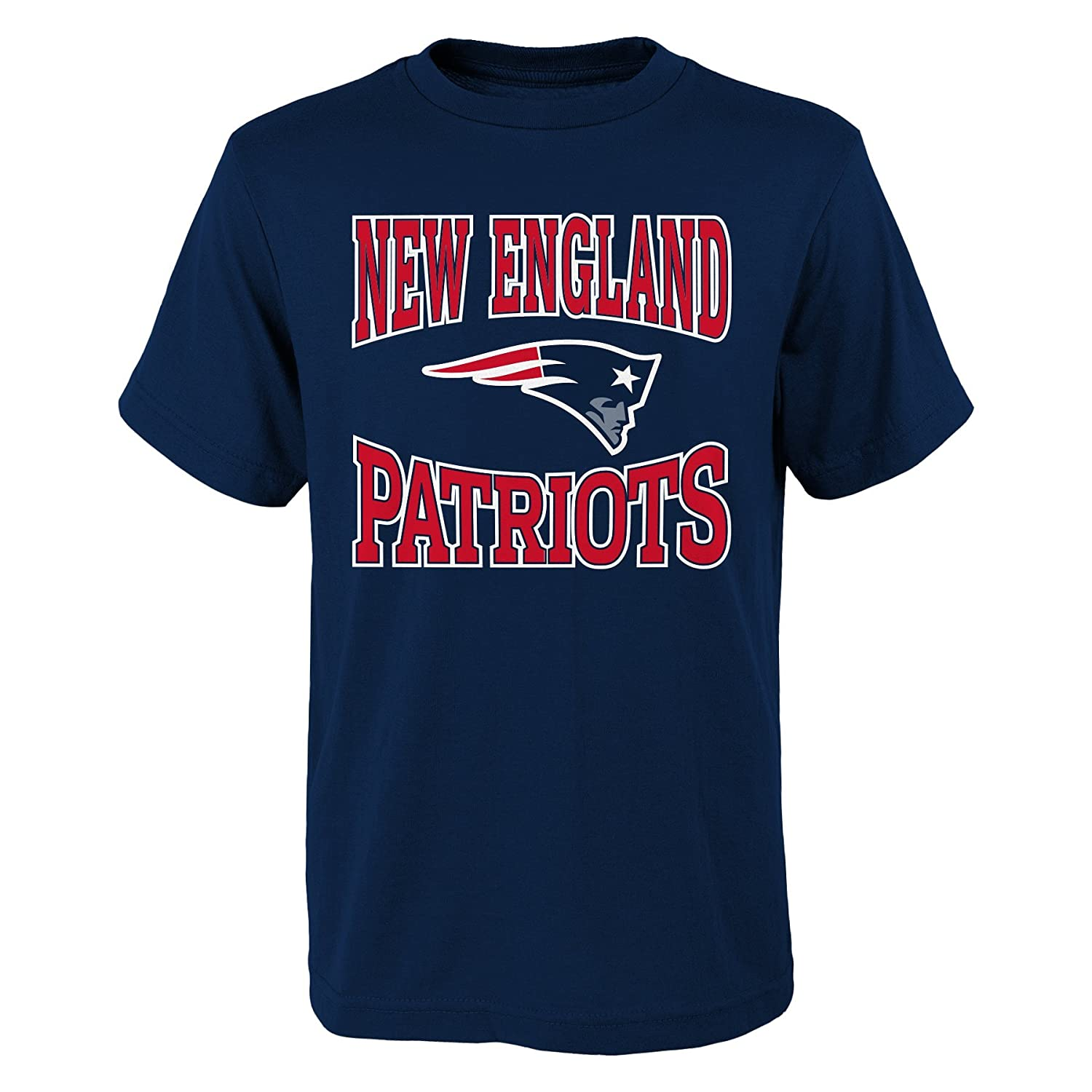 NFL New England Patriots Boys  Outerstuff 3-Piece Tee Set 3Piece Assorted Colors 10-12 Youth Medium