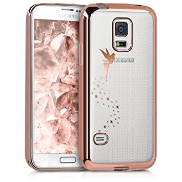 kwmobile Funda compatible con Samsung Galaxy S5 Mini G800 ...