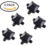 MVPOWER Junction Box ,IP68 Waterproof 3-Way Cable Connectors for Outdoor Lighting External Junction Box φ6.5-10.5mm Pack of 5