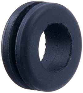 Home Brew Ohio black Replacement Rubber Grommet-25Count