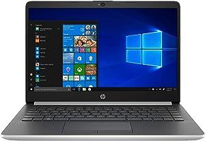 2020 Newest HP Stream 14inch Laptop, Intel Celeron N4000 Dual-Core Processor, 4GB RAM, 64GB eMMC, HDMI, WiFi, Webcam, Bluetooth, Win10 S (Renewed) (Silver/N4000/64GB)