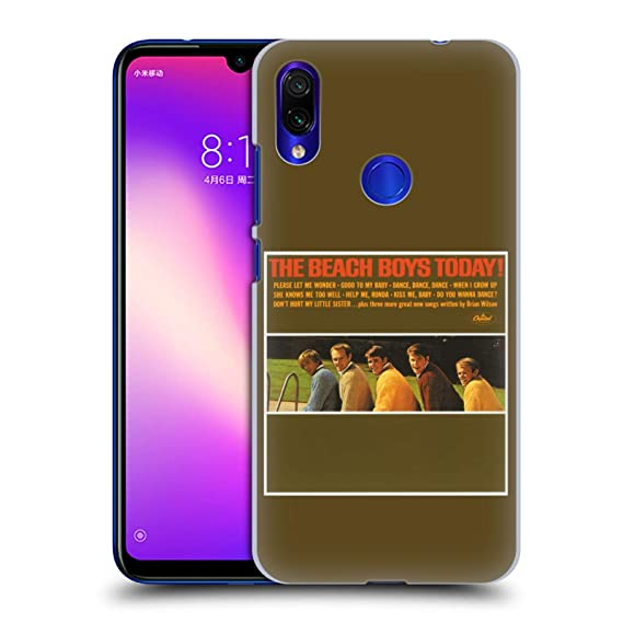 41f125fa28e Image Unavailable. Image not available for. Color  Official The Beach Boys  Today Album Cover Art Hard Back Case for Xiaomi Redmi Note 7