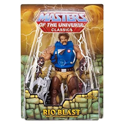 Masters of the Universe Classics Rio Blast Action Figure Matty: Toys & Games
