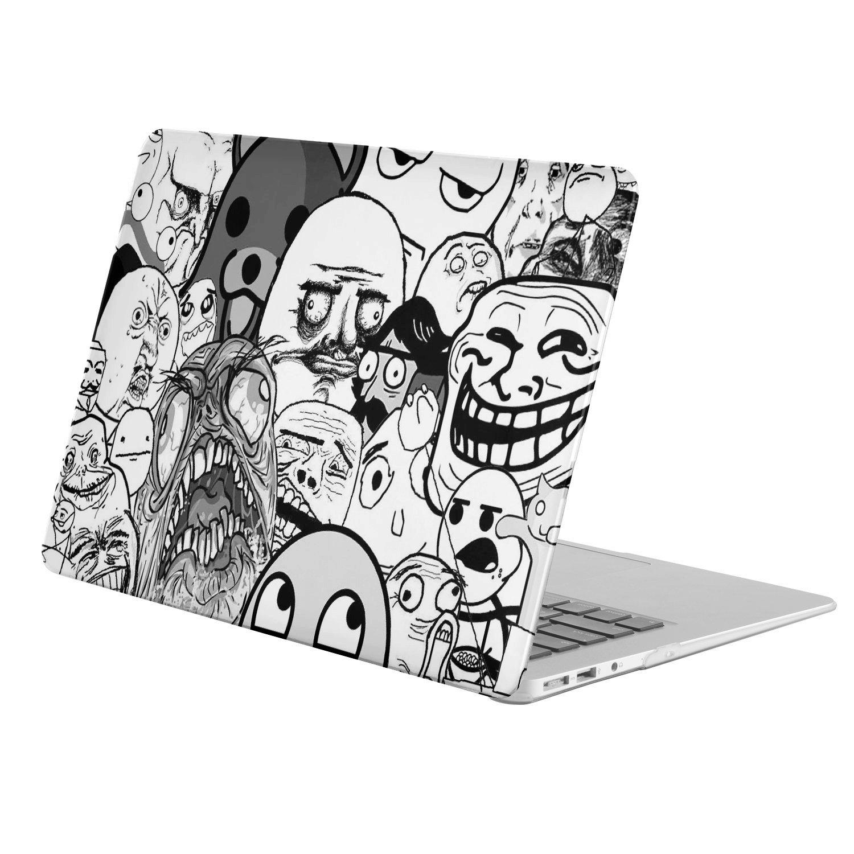 Apple MacBook Air 11.6インチ用( a1370 / a1465 ) ( Funny Memes)、マットソフトタッチゴムコーティングプラスチックハードケース B073N6ZJGF