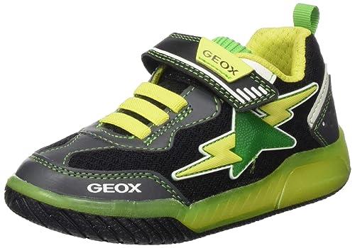 Geox J Inek Boy B, Scarpe da Ginnastica Basse Bambino