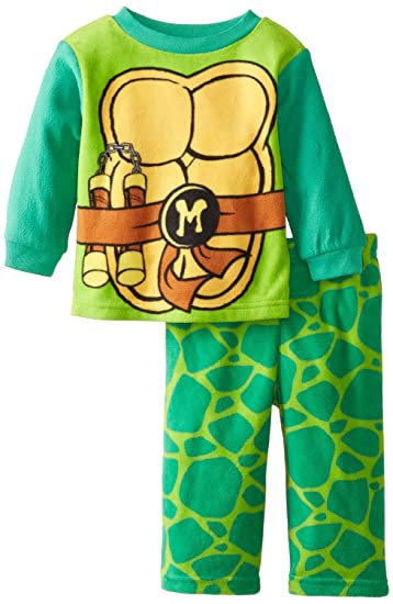 7c44e2788f Image Unavailable. Image not available for. Color  Teenage Mutant Ninja  Turtles Toddler Boys  Microfleece 2 Piece Pajama Set ...