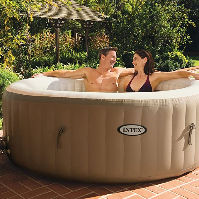 Intex 28408 - Spa hinchable burbujas - 6 personas - 1.098 litros