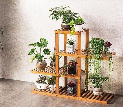 Présentoir pour en bois plante de fleur etagere de plantes dWreBCxoQE