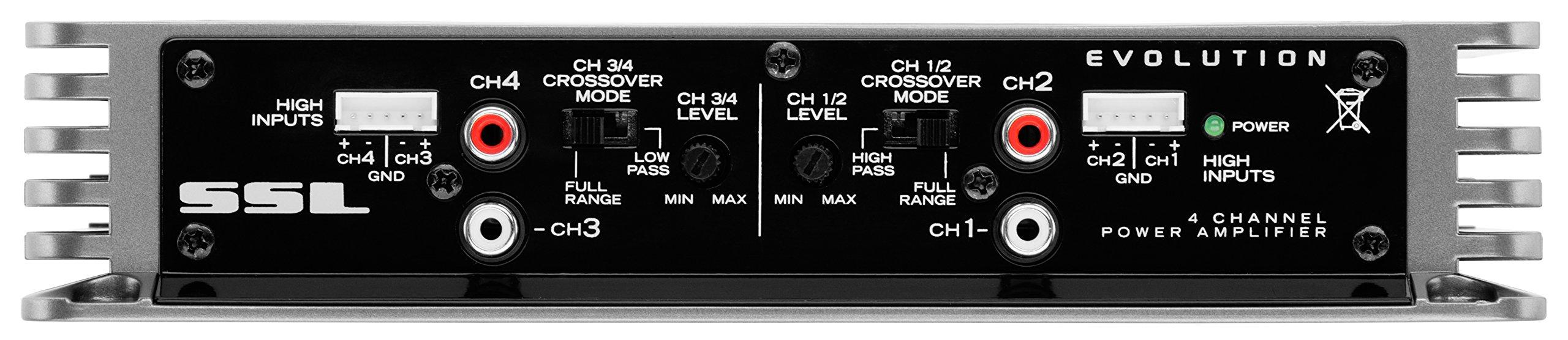 Sound Storm EV4.400 Evolution 400 Watt, 4 Channel, 2 to 8 Ohm Stable Class A/B, Full Range Car Amplifier by Sound Storm Laboratories (Image #3)