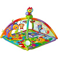 Playgro Woodlands Music and Light Projector Gym Stem for a Bright Future, Multi
