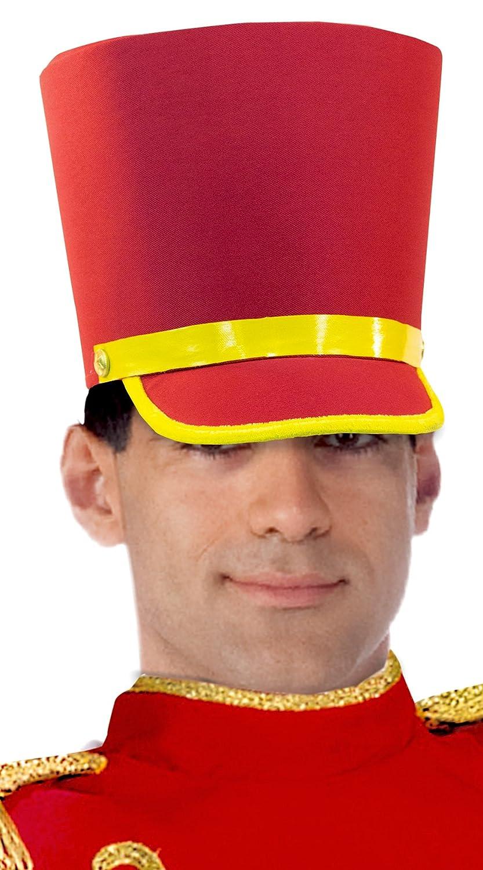 Forum Novelties Men's Deluxe Toy Soldier Hat Red/Gold One Size Forum Novelties Costumes 74161