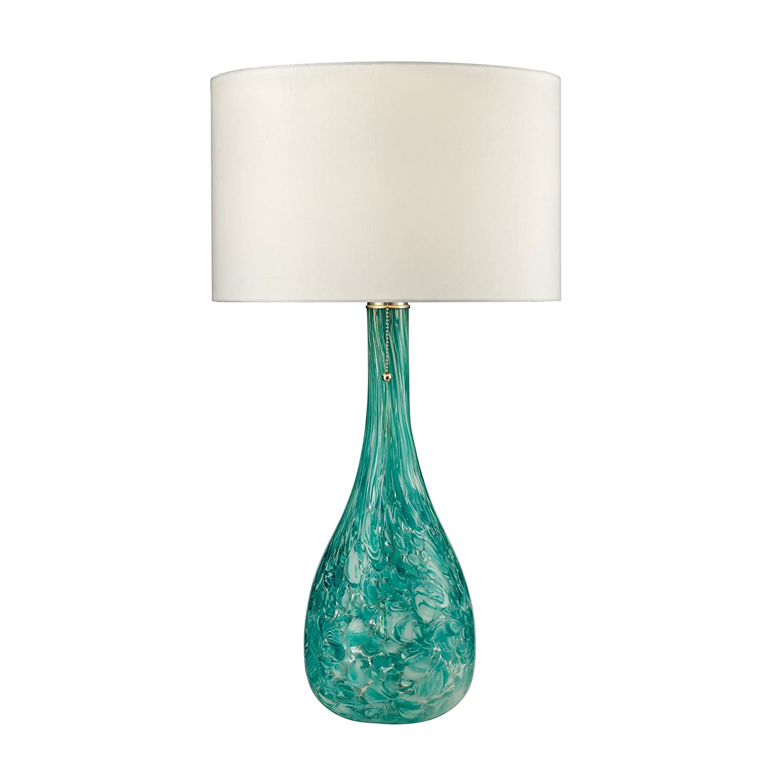 Dimond Lighting D2691 Blown Glass Table Lamp, Seafoam Green ...