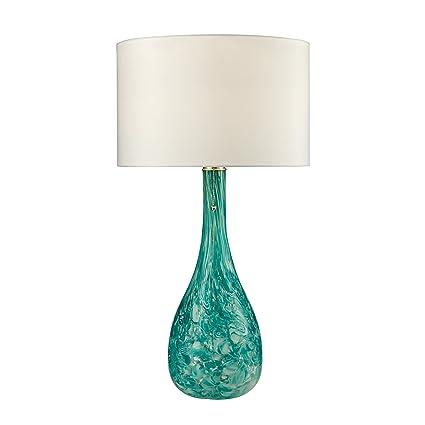 Dimond Lighting D2691 Blown Glass Table Lamp Seafoam Green