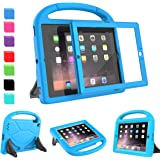 AVAWO Kids Case for iPad 2 3 4 (Old Model)- Built-in Screen Protector, Shockproof Handle Stand Kids Friendly Compatible with iPad 2nd 3rd 4th Generation (Blue)