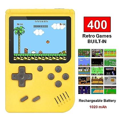TAPDRA Consola de Juegos Portátil, 3 Pulgadas Pantalla HD ...