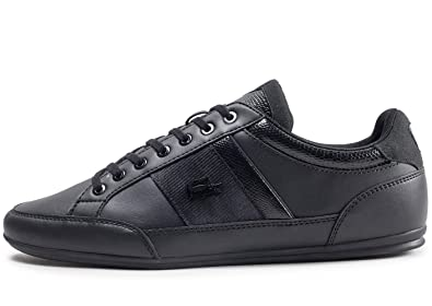 7d9ffd789 Lacoste Footwear Chaymon 119 Black Trainers  Amazon.co.uk  Shoes   Bags
