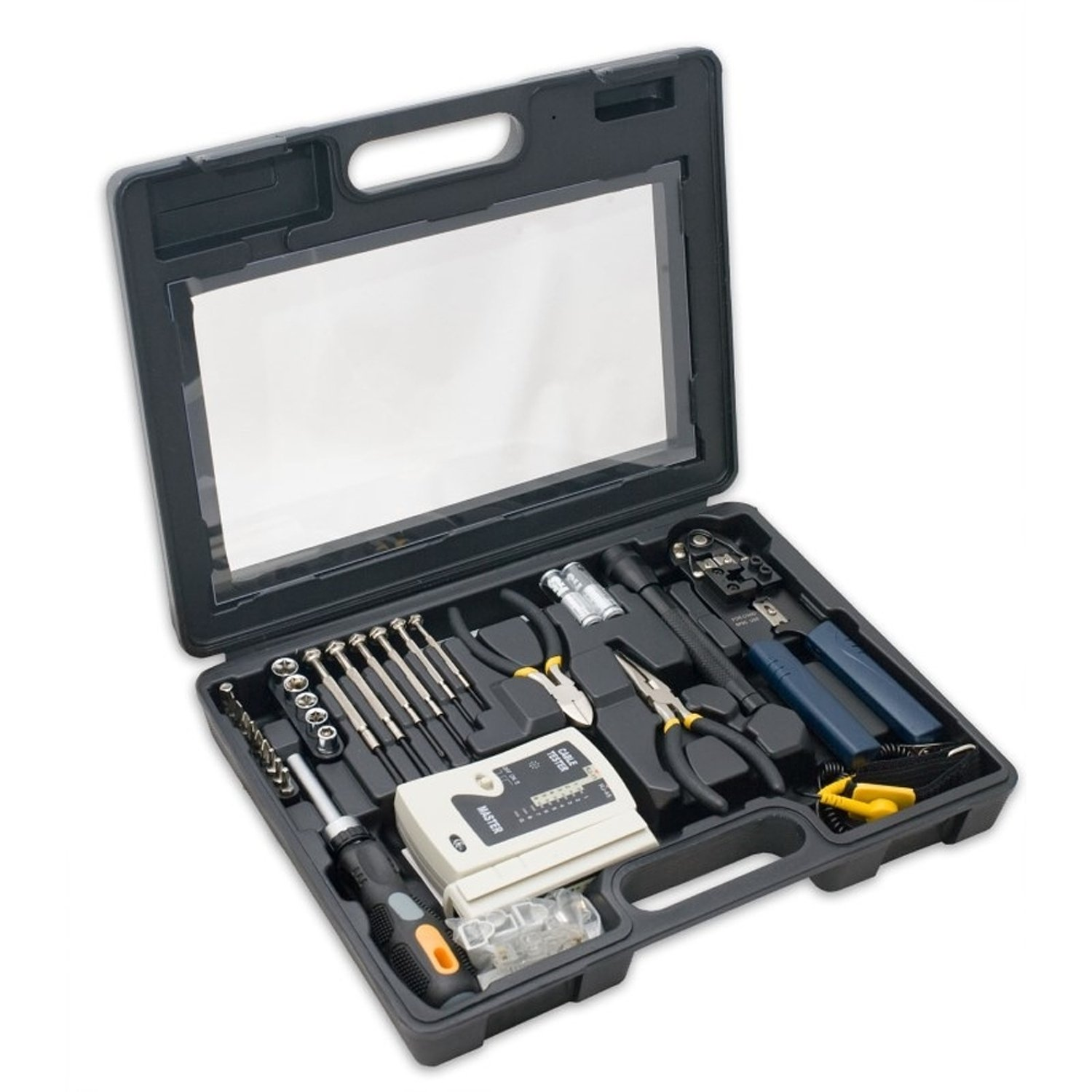 Syba SY-ACC65047 50 Pieces Computer and Networking Tool Kit