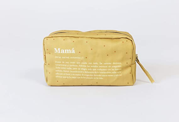 UO Estuche Tela Mamá Definición Guantes, Amarillo (Amarillo 001), One Size (Tamaño del fabricante:Talla única) para Mujer: Amazon.es: Ropa y accesorios