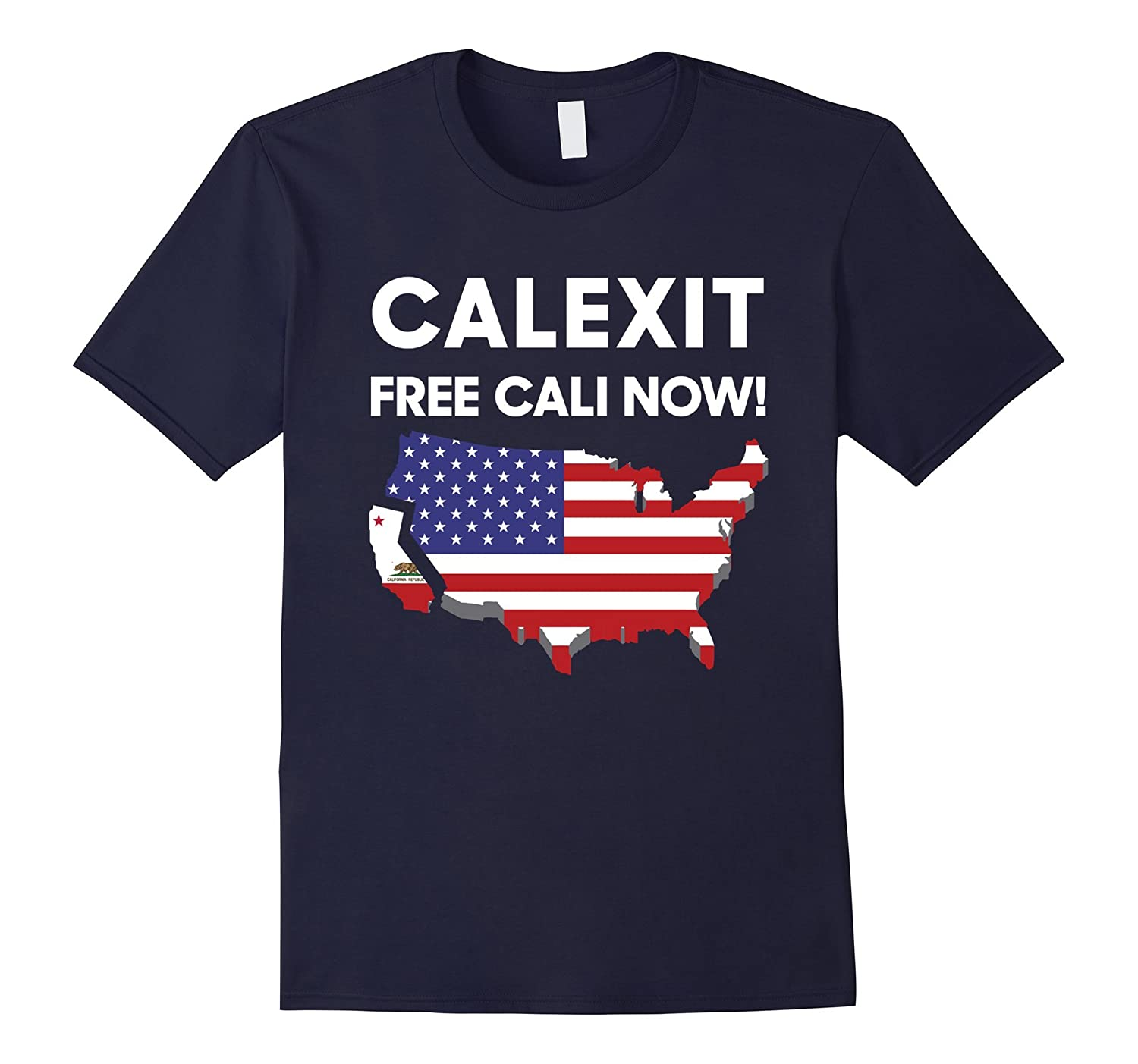 #CALEXIT FREE FOR CALIFORNIA T-SHIRT-CL