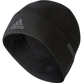 9ac935148ce adidas ClimaHeat Beanie Hat - Black  Amazon.co.uk  Sports   Outdoors